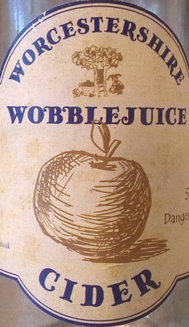 Review — Worcestershire Wobblejuice cider cover image
