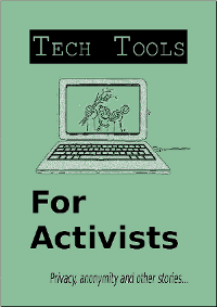 Tech Tools For Activists Front Cover