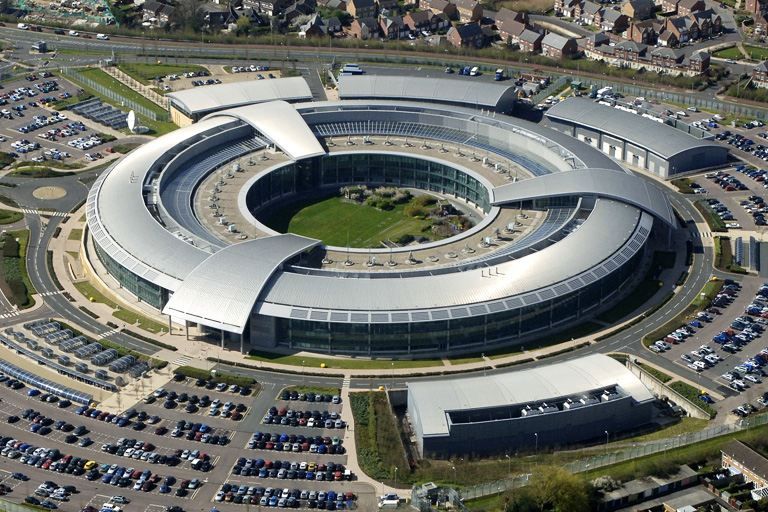 GCHQ doughnut. Used without permission from their website. Because fuck you
