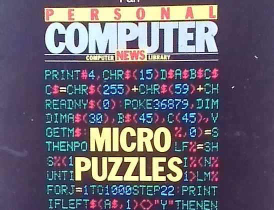 Cover of the Book Micropuzzles by J.J.Clessa