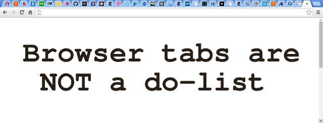 Browser tabs are not a do-list cover image