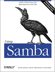 cover of the oreilly samba book
