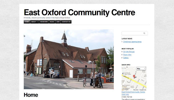 new east oxford community centre site