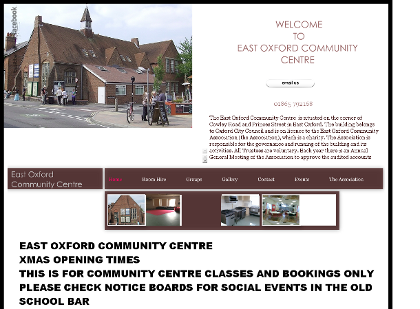 old east oxford community centre site