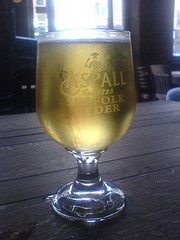 Pint of Aspalls Draught Suffolk Cyder