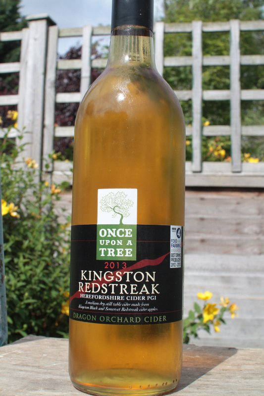Review — Once upon a tree kingston redstreak cider cover image