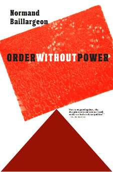 Cover of Order without Power by Normand Baillargeon