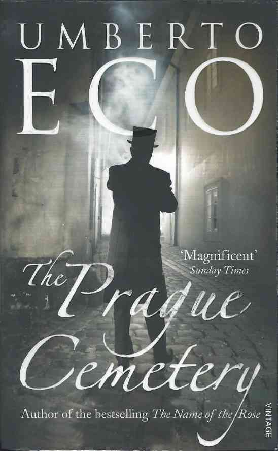 Prague Cemetery by Umberto Eco (cover image)