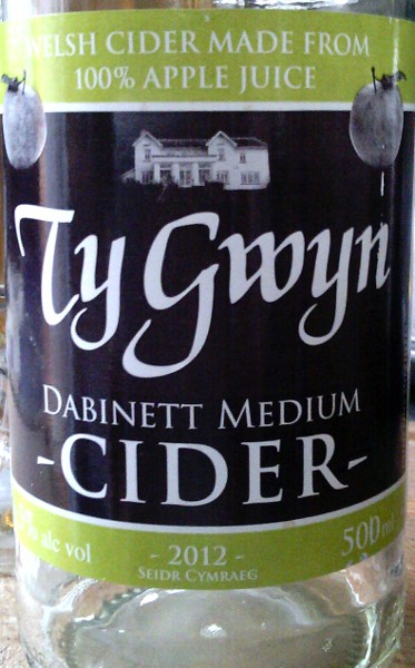 Review — Ty Gwyn Medium Dabinett Welsh Cider cover image